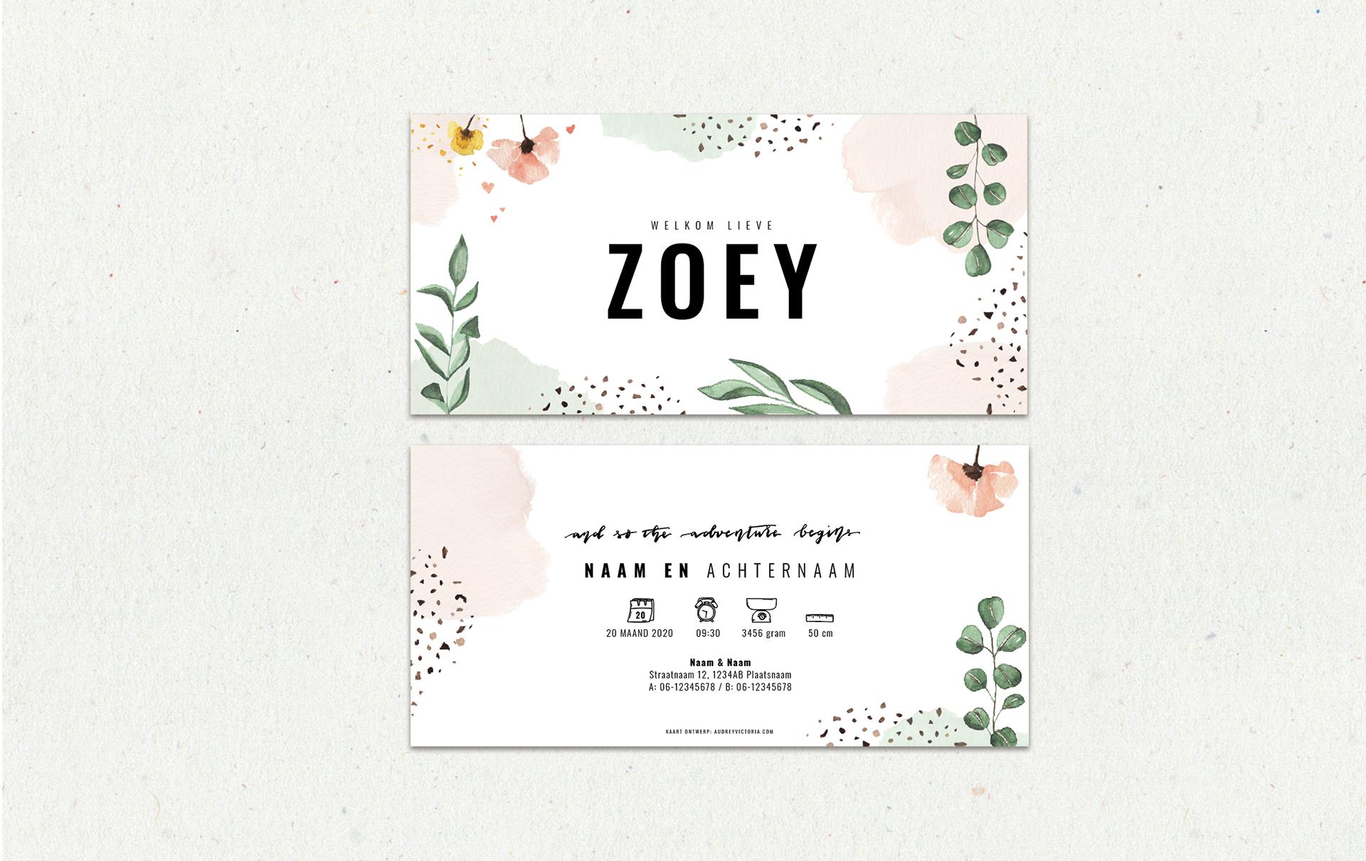 zoey-website
